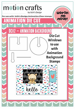 Animation Background Die Cut - W