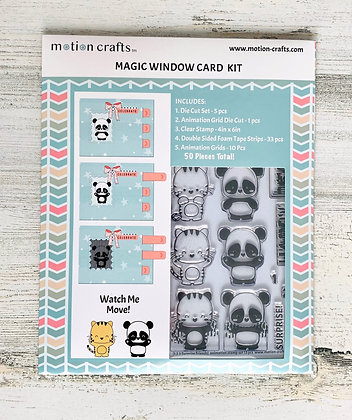 123 Magic Window Card Kit