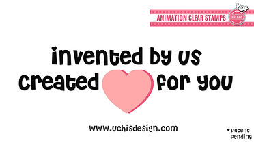 Uchi's Design - Uchis Design - Bilingual Clear Stamps
