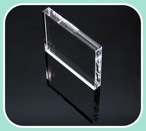 "B03 Plain-Acrylic Block 3""x4"""