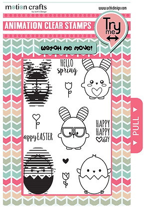 Springy -  Stamp and DieCut Combo - W