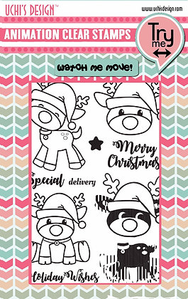 Christmas Fun Stamp/Die Combo Set