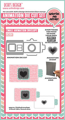 Animation Die Cut  Small Animation Envelope DC104