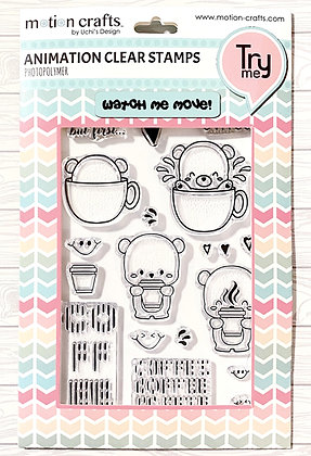 Love Coffee Stamp Set