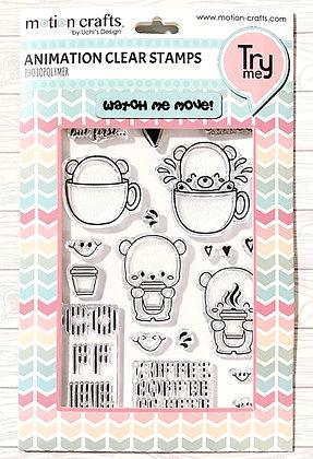 Love Coffee Stamp Set - w