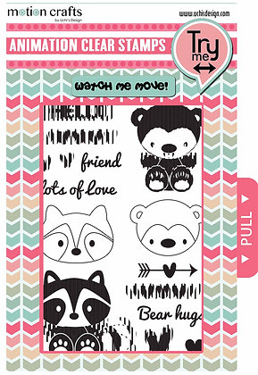 Critters - Stamp and Die Cut Combo - W