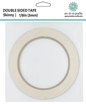 Double Sided Tape - Skinny 1/8 inch x 65ft