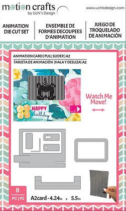 Animation Card - Pull Slider