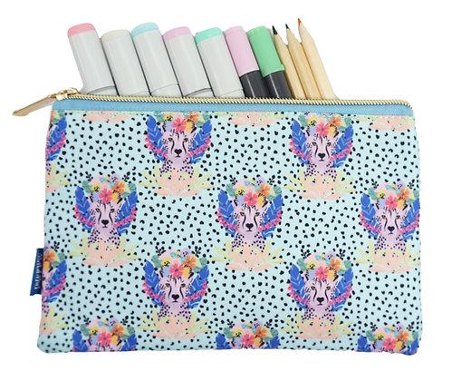 Cheetah Pencil Pouch