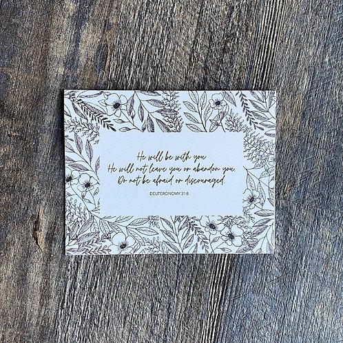 Floral Cards - 5 pack