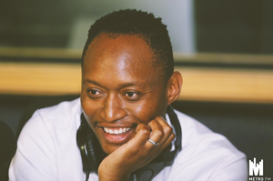 Interior designer Donald Nxumalo talking about his career on