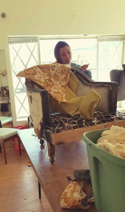 Beginners Upholstering Class