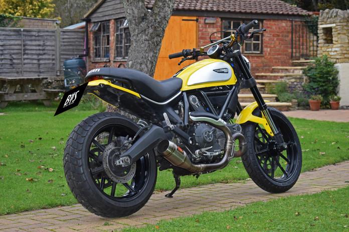 Used Ducati Scrambler for sale northampton bike sanctuary icon yellow right rear.jpg