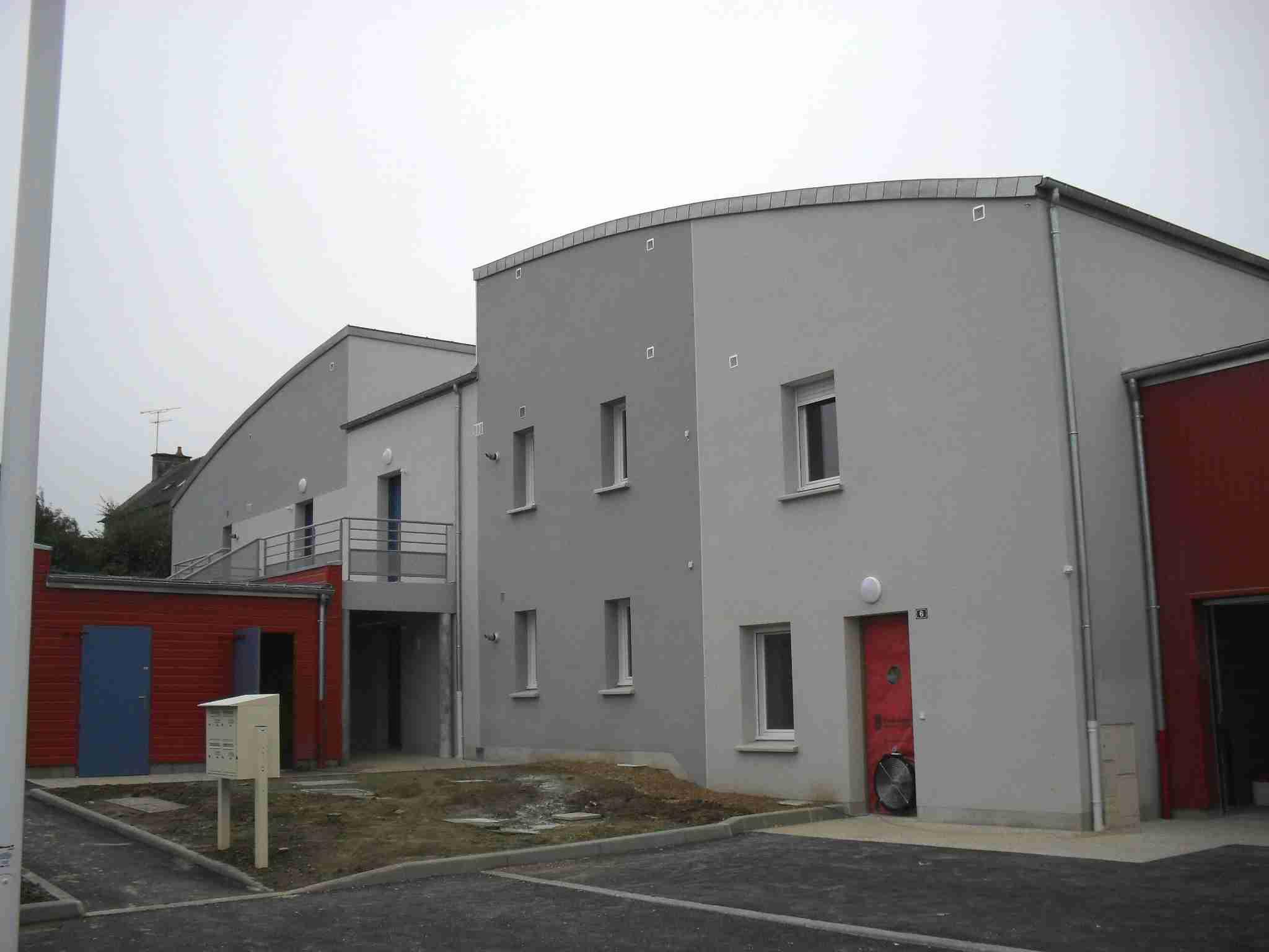 Bâtiment de logements collectifs