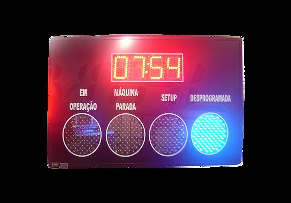 IND-0145 - CRONÔMETRO COM STATUS