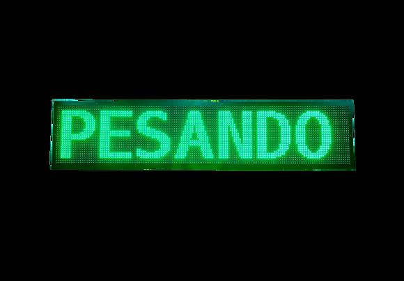 PMV-190 - PAINEL DE MENSAGEM P10 RGB SMD