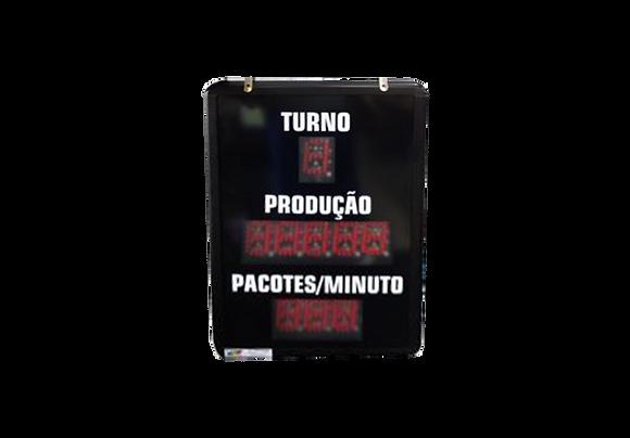 IND-0324 - PRODUÇÃO PACOTE/MINUTO