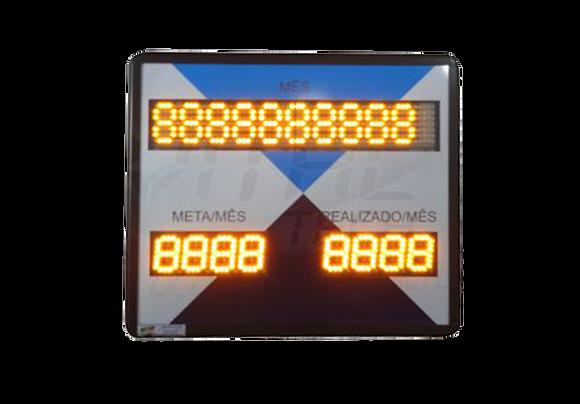 IND-0213 - PRODUÇÃO META/MÊS