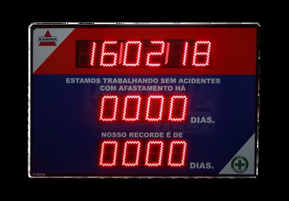 IND-0250 - PAINEL DE CIPA COM RELÓGIO E USB