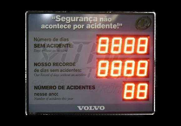 """IND-0364 INDICADOR DE CIPA 6"""" POLEGADAS ESPECIAL"""