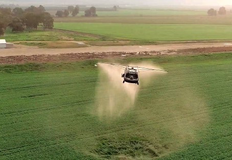 Future Farming - Drone spraying takes off as regulations relax worldwide