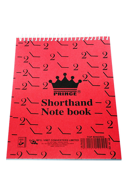 Prince Shorthand Note Book