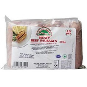 Halal Farmers Choice Beef Sausages 500grams