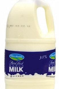 Brookeside Whole Milk (2 Litres)