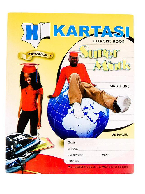 Karatasi Exercise Book 80 pages