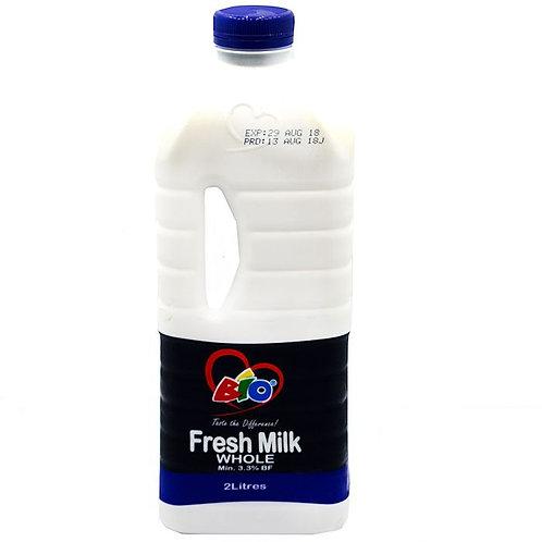 Bio Fresh Milk (2 Litres)