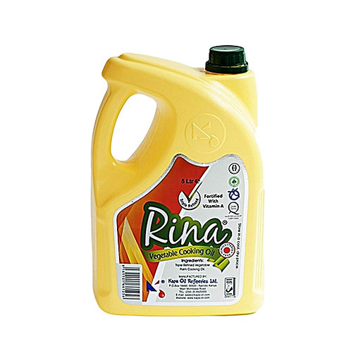 Rina Vegetable Oil (5 ltrs)