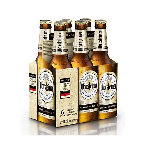 Warsteiner Beer 6 Pack - (330ml X 6)