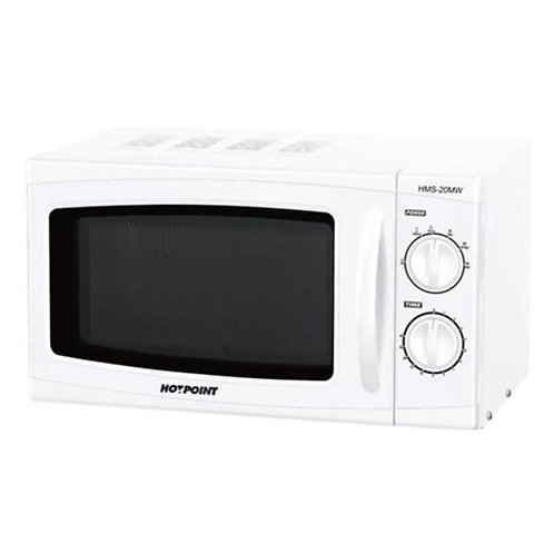 Hotpoint HMS-20MW Microwave Solo - White - 20L