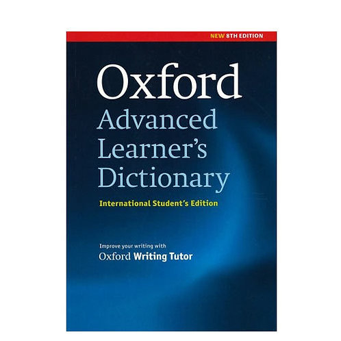 Oxford Advanced Dictionary 8th Edition