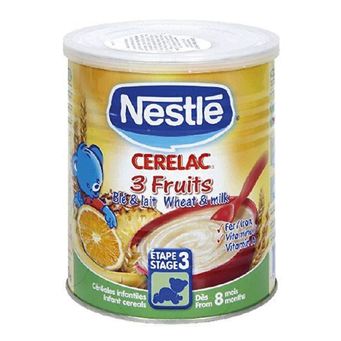 Nestle Cerelac 3 Fruits 400G