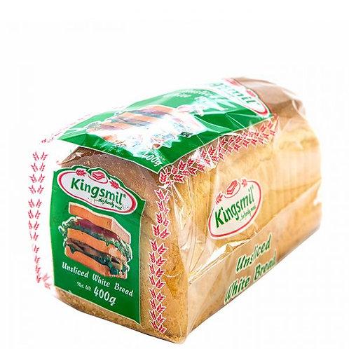 Kingsmill White Unsliced Bread (400 grams)