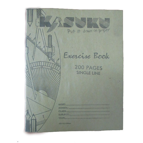 Kasuku Exercise Book 200 Pages