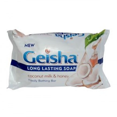 Geisha Coconut Milk And Honey Soap 225g