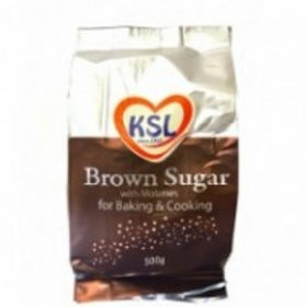 KSL BROWN SUGAR 500GM