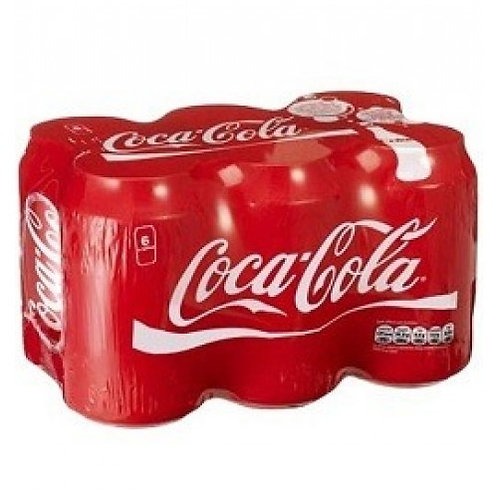 Coca Cola Pack of 6 (330 ml)