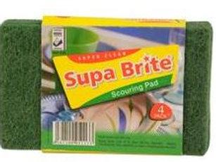 Supa Brite Scouring Pad 4 pack