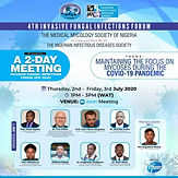 4TH INVASIVE FUNGAL INFECTIONS FORUM