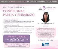SIMPOSIO VIRTUAL #3: CONDILOMAS, PAREJA Y EMBARAZO