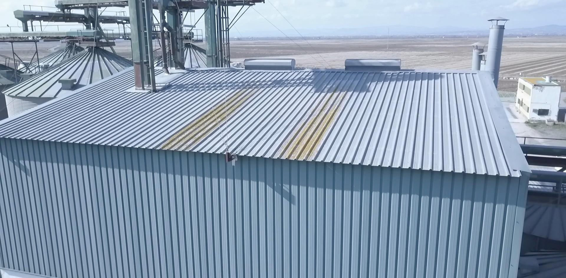 Inspección estructura metalica