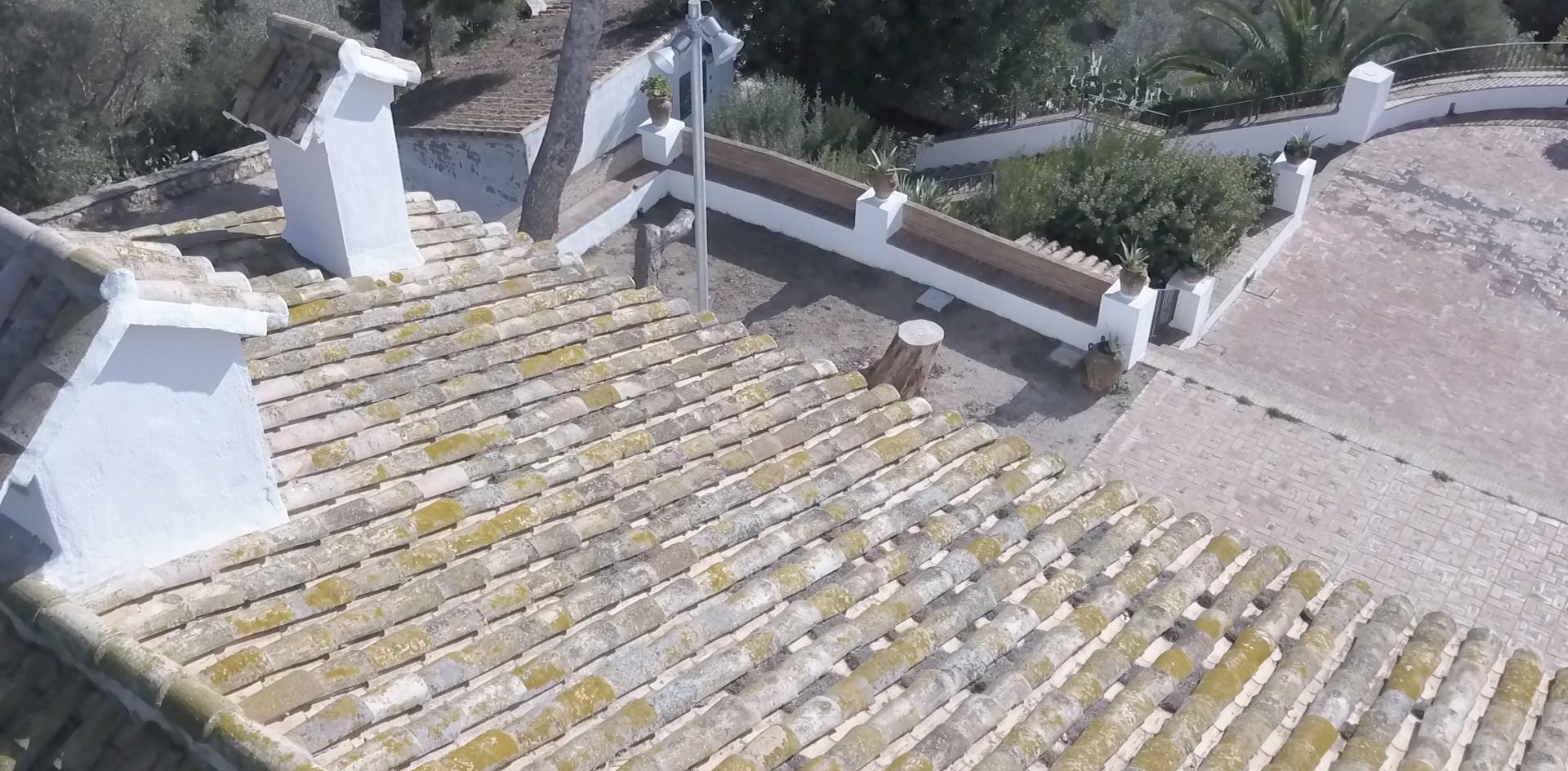 Inspección tejado Ermita