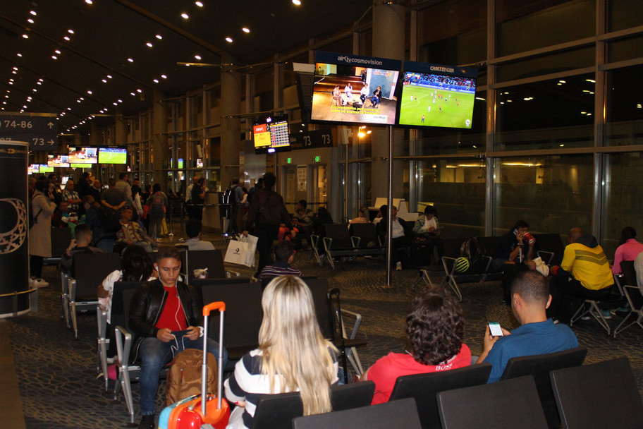 Aeropuerto internacional terminal el Dorado