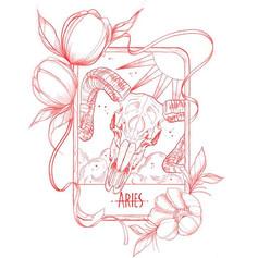 Astrology set 🌑 1 of 12 designs that I'