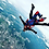 Thumbnail: Saut en parachute en tandem