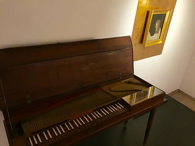 Mozarts Clavichord. The composer bought