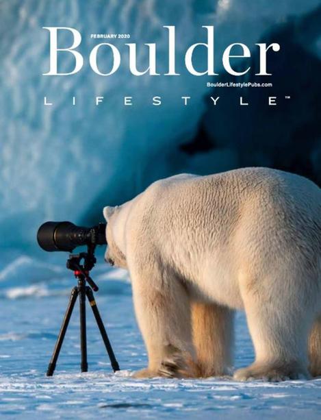 Roie Galitz Polar Bear Camera Boulder Cover